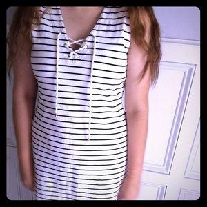 Ralph Lauren nautical summer dress sleeveless